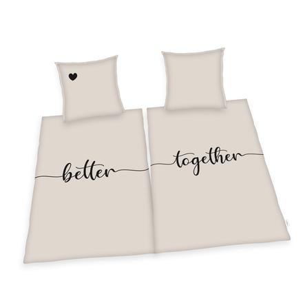 HERDING HOME Partner bedlinnen Better together 135 x 200 cm