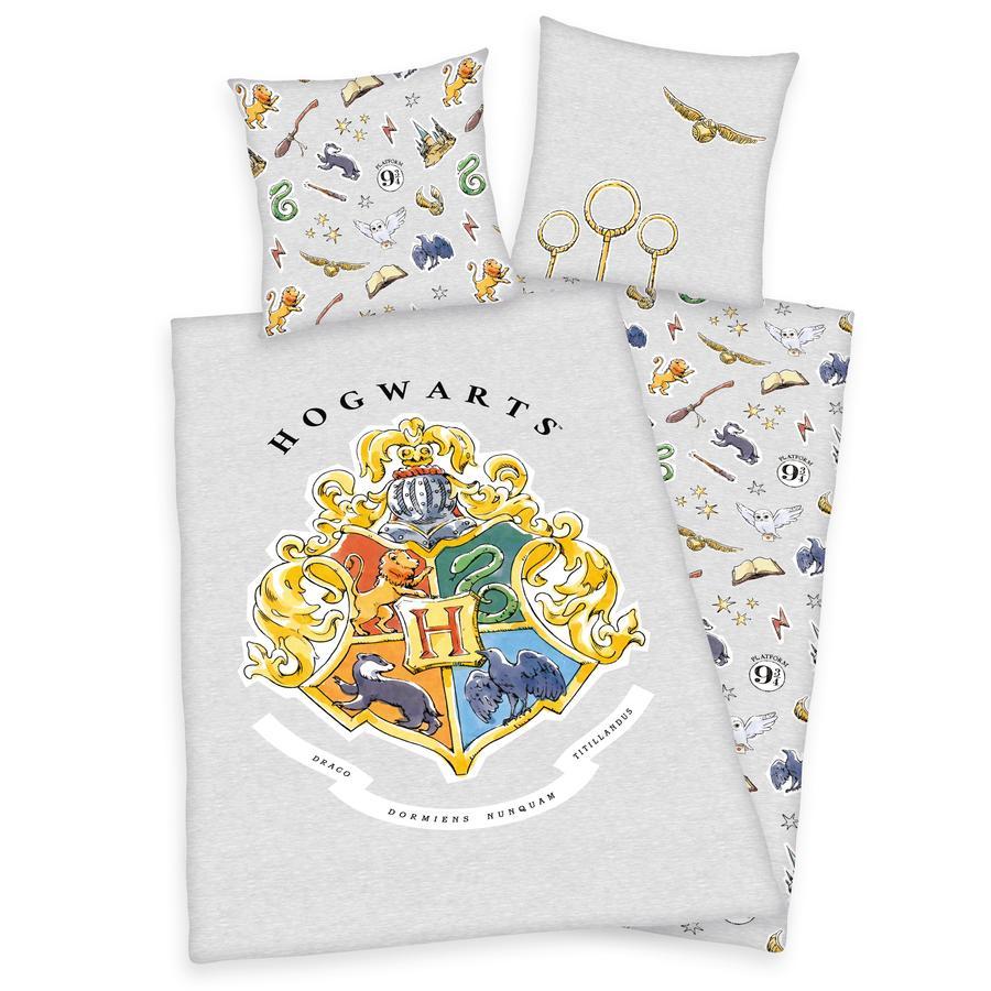 HERDING Parure de lit enfant Harry Potter Poudlard 135x200 cm