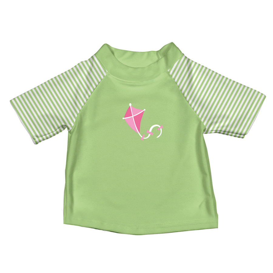 i play.® Girls Koszulka kąpielowa RASHGUARD LIME KITE