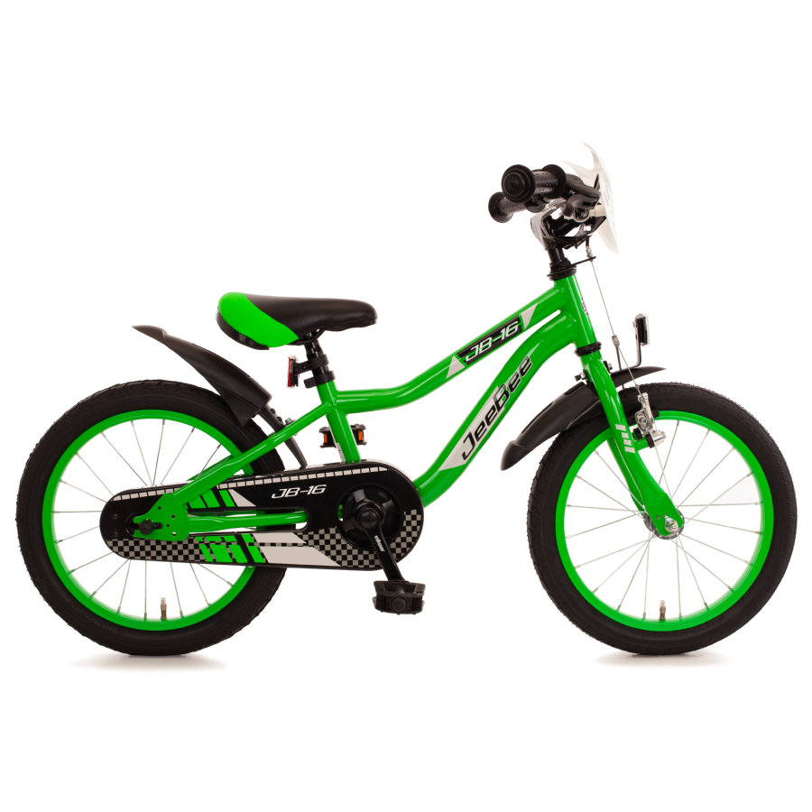 "Bachtenkirch Kinderfahrrad 16"" JeeBee, grün/schwarz"