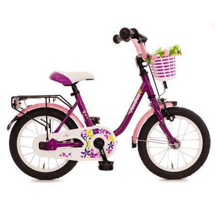 "Bachtenkirch Kinderfahrrad 14"" JeeBee, violett/pink"