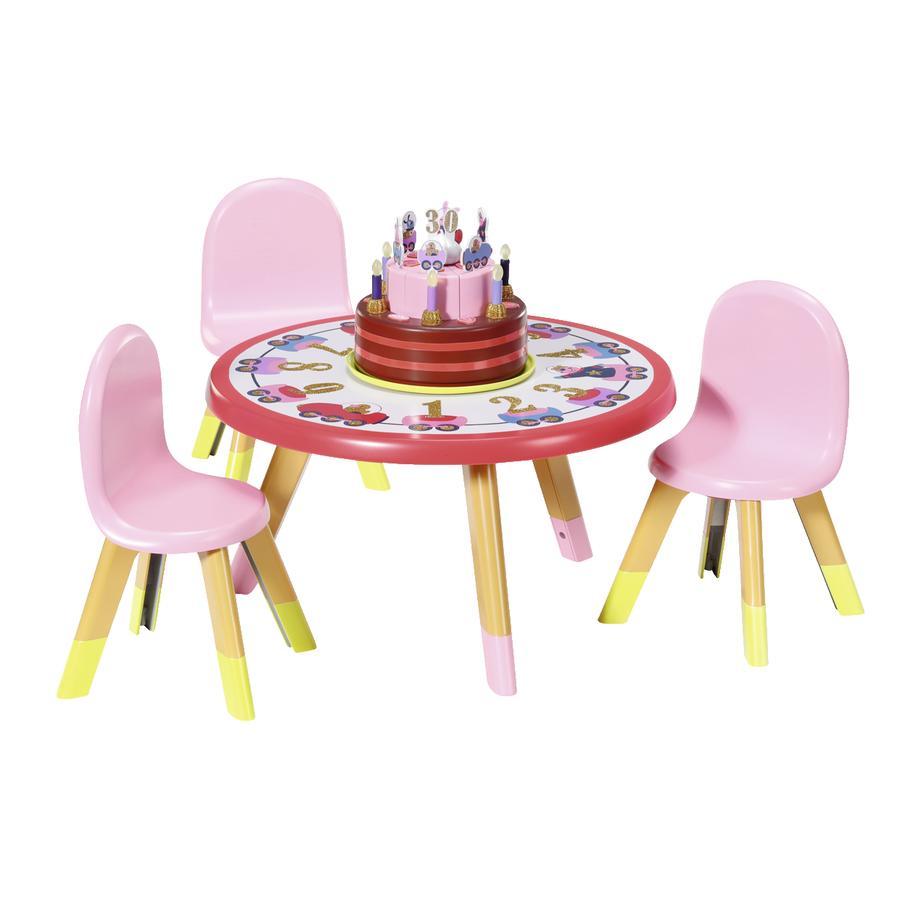 Zapf Creation  Table de fête BABY born® Happy Birth day
