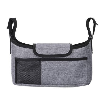 Dream baby ® Kombinovaná sada tašky na kočárek 3 v 1 na cesty (taška na kočárek / háček na kočárek / držák na nápoje)