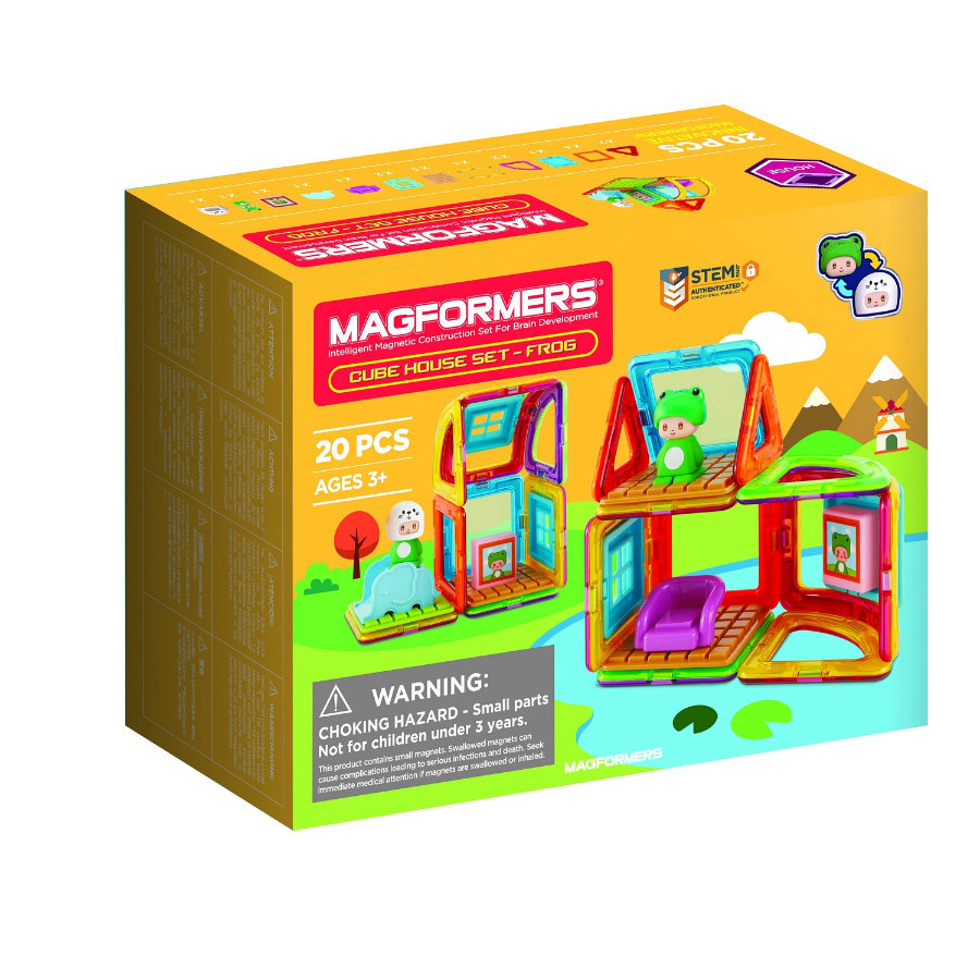 MAGFORMERS® Cube House Frog