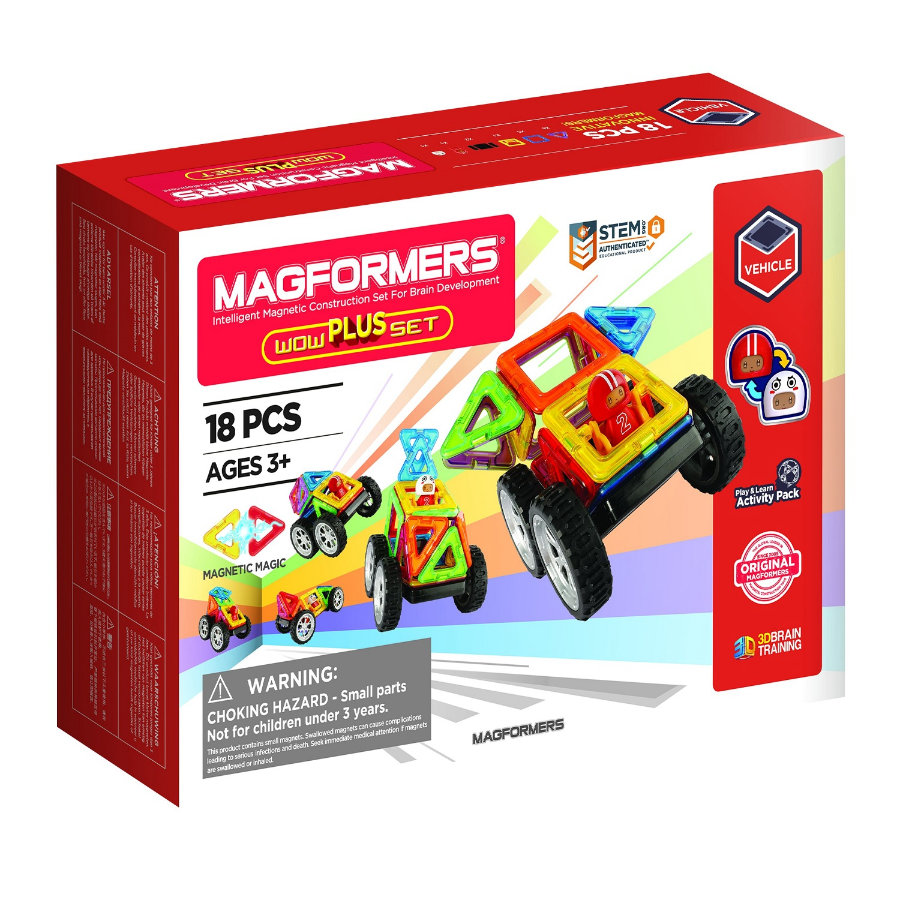 MAGFORMERS® WOW Plus Set