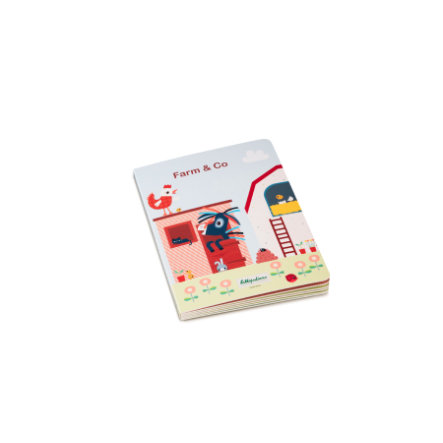 Lilliputiens FARM & CO,  Mein erstes Puzzlebuch, 23x17x2 cm