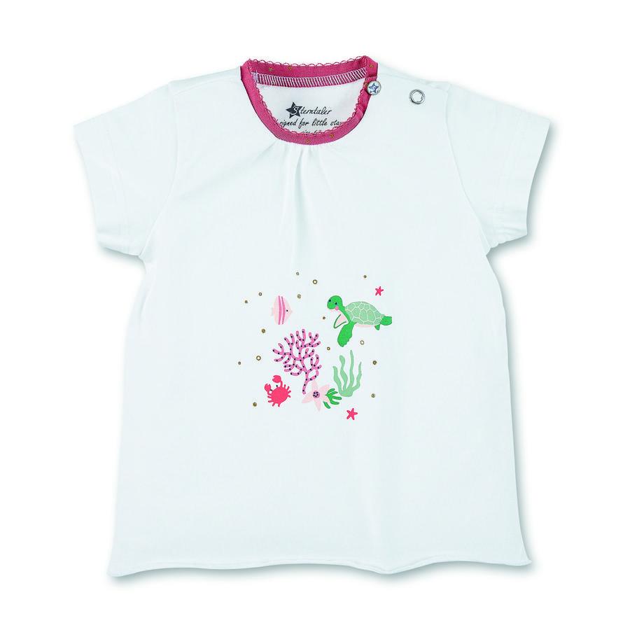 Sterntaler Kurzarm-Shirt weiß