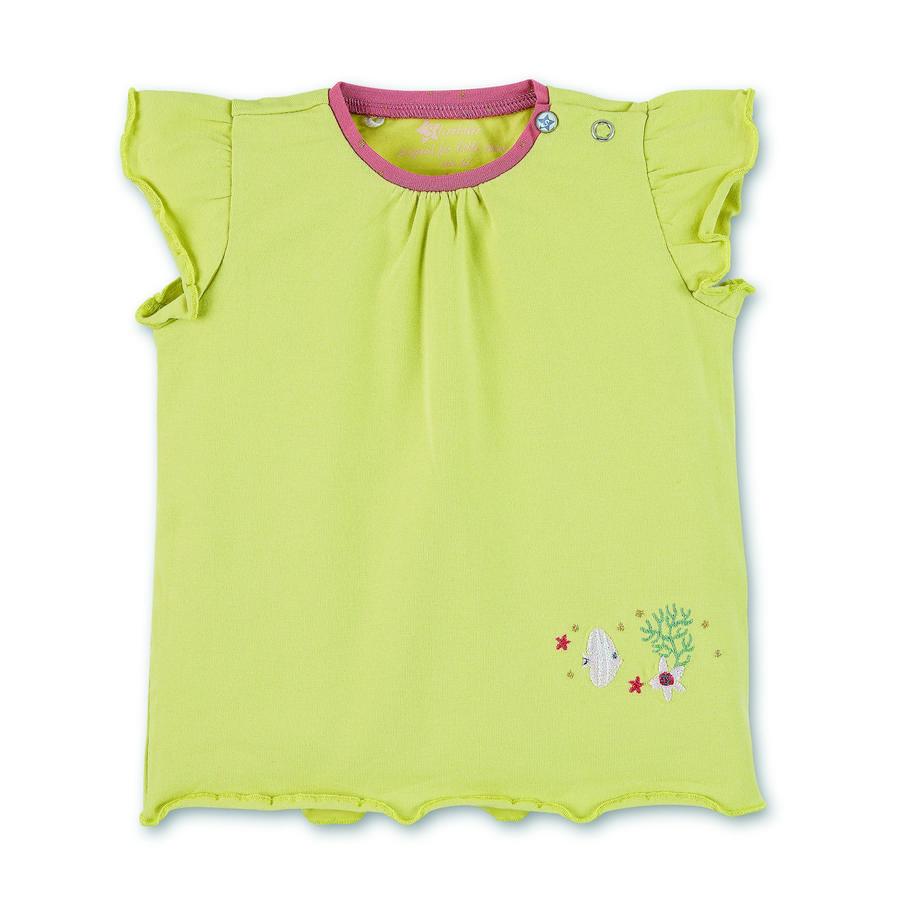 Sterntaler kortærmet skjorte lysegrøn