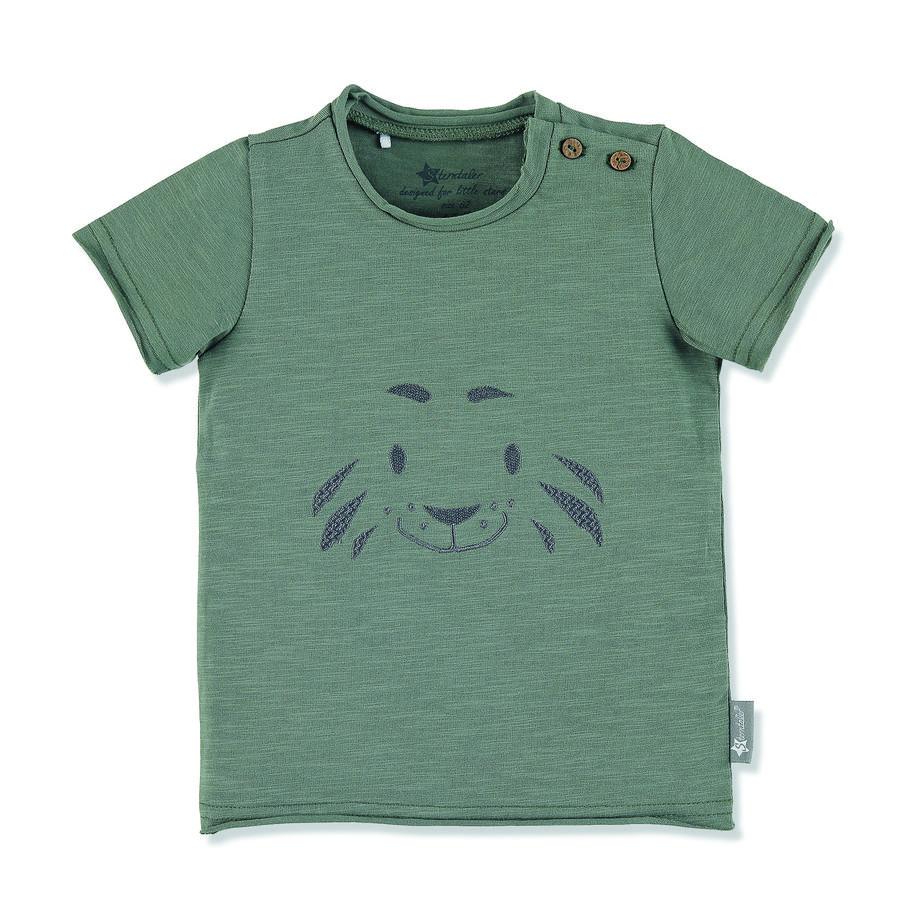 Sterntaler Kurzarm-Shirt dunkelgrün