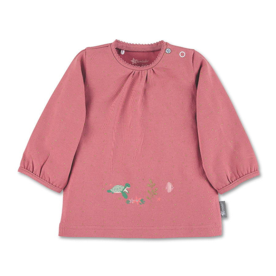 Sterntaler Koszula z długim rękawem różowa