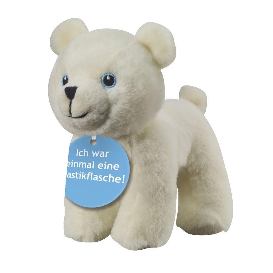 ECO-Line pluche knuffel ijsbeer 15cm