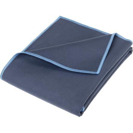 Playshoes Plaid enfant multifonction bleu 90x180 cm