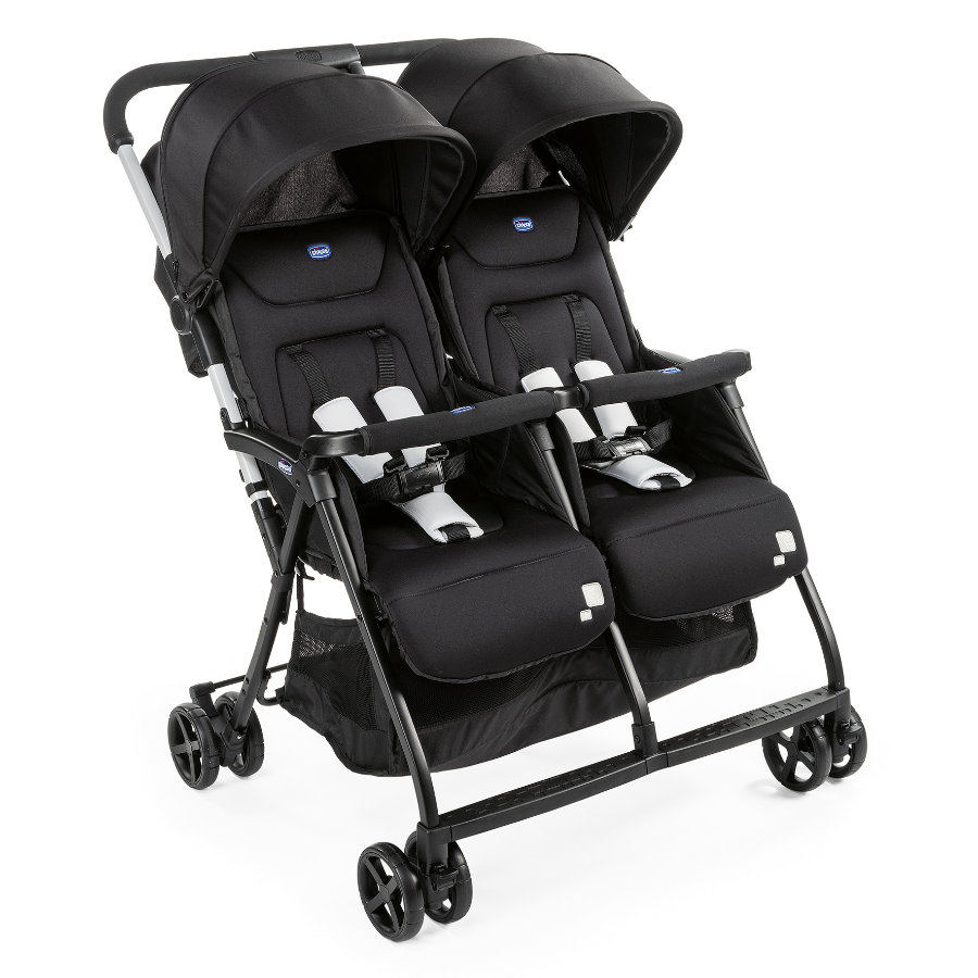 chicco Twin Klapvogn Ohlala Twin Black Night