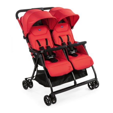 chicco Tweeling buggy Ohlala Twin Paprika