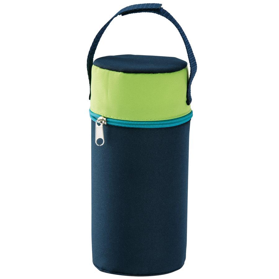 ROTHO Porte-biberon isotherme pour biberons à cols larges bleu nacré