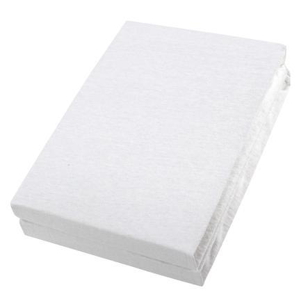 Alvi® Spannbettlaken Doppelpack weiß/weiß 40 x 90 cm