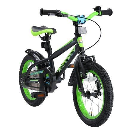 "bikestar børnecykel 14"" Urban Jungle Black & Green"