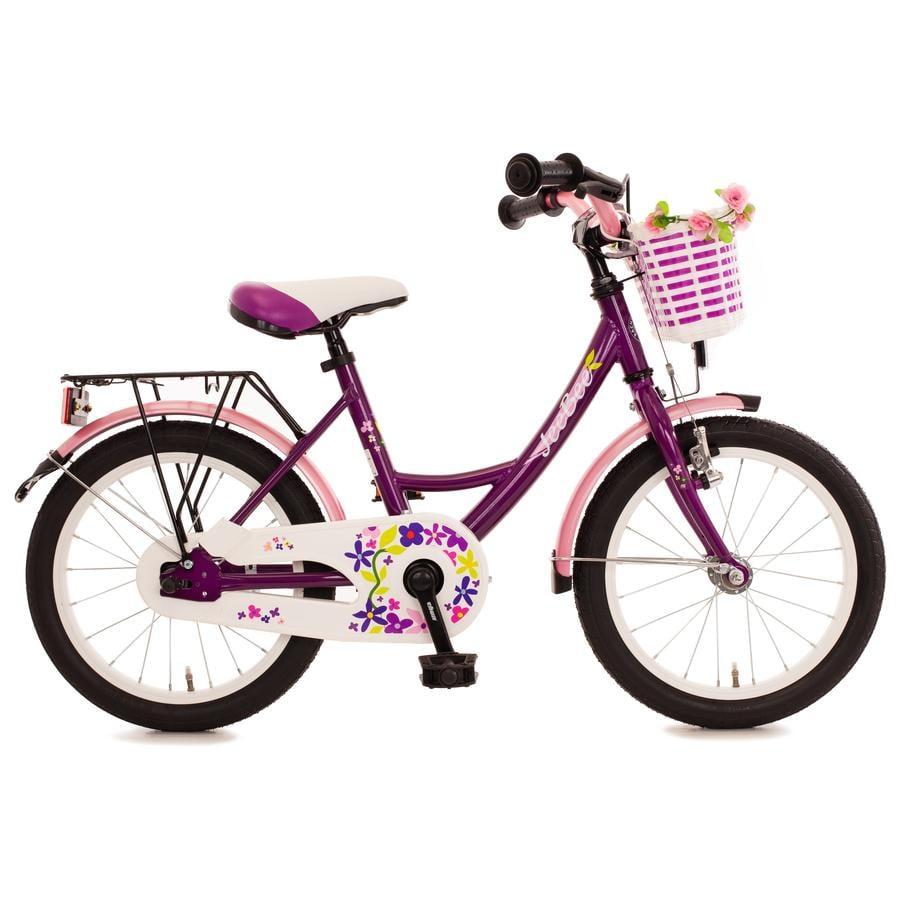 "Bachtenkirch Kinderfahrrad 16"" JeeBee, violett/pink"