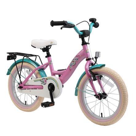 "bikestar Premium Sicherheits Kinderfahrrad 16"" Classic Pink"