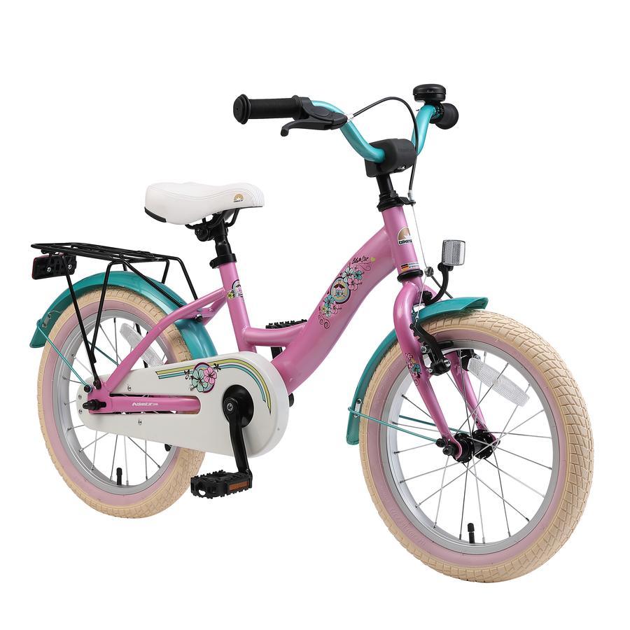 "bikestar Premium Rower dziecięcy 16""  Classic Pink"