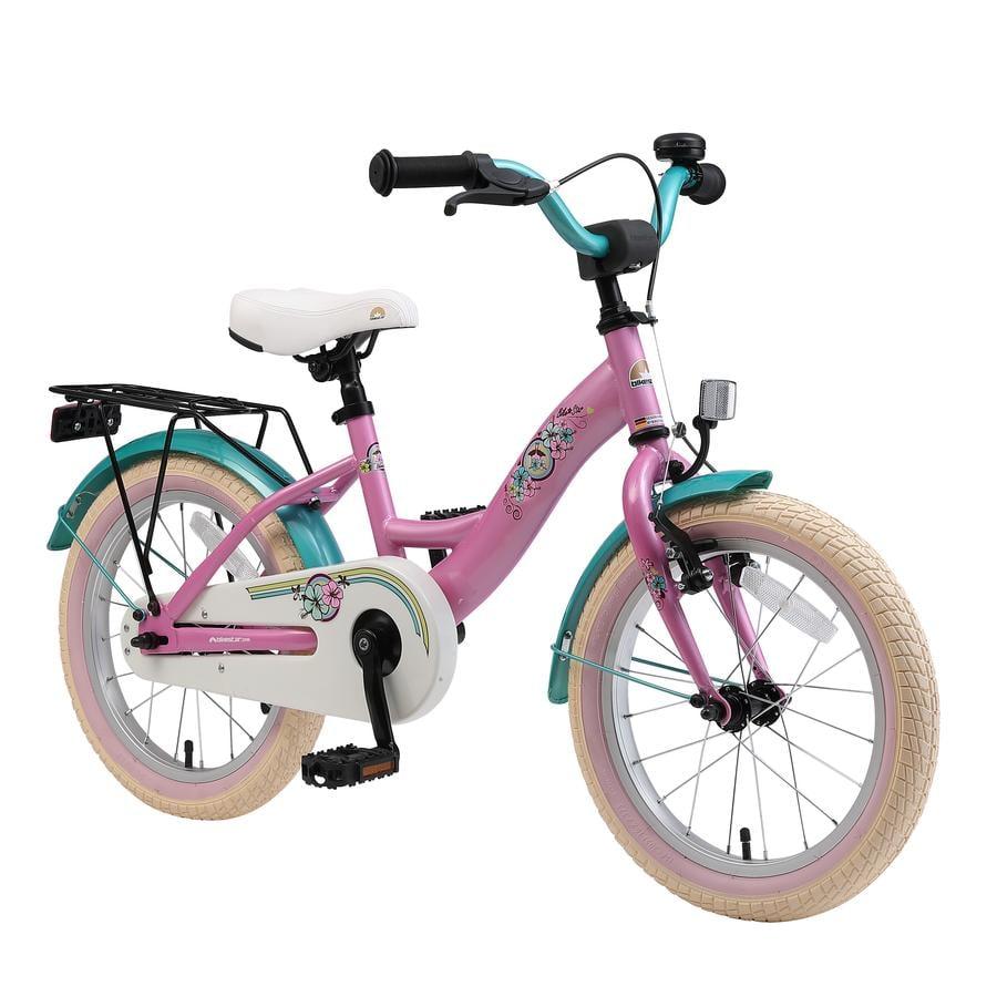 """bikestar premium safety lasten polkupyörä 16"""" Class ic pinkki"""