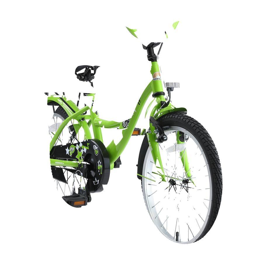 "bicicletta per bambini bikestar Class ic 18"" verde"