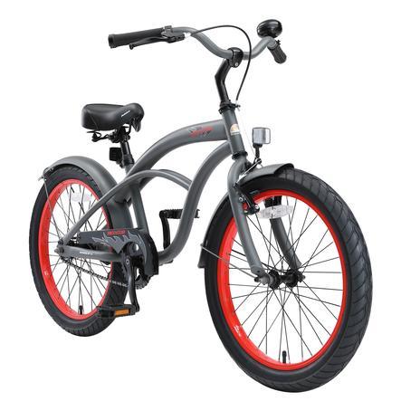 "bikestar Kinderfahrrad Cruiser 20"" Grau"