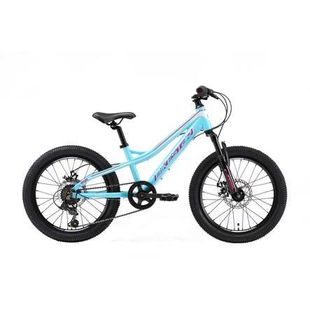 """bikestar børnecykel aluminium hardtail Mountain cykel 20"""" turkis"""