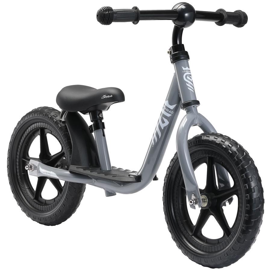 "bikestar LÖWENRAD Kinderlaufrad 12"" Grau"