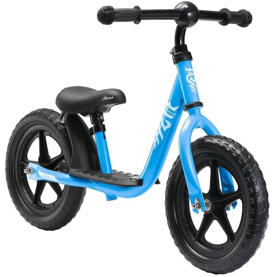 """bikestar LÖWENRAD Kinderlaufrad 12"""" Blau"""
