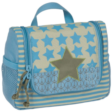 LÄSSIG Mini Wash Bag Toiletries Bag Starlight Oliv