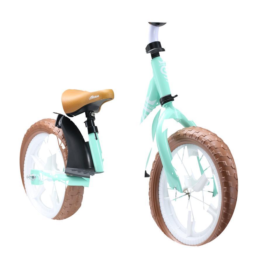 "bikestar LÖWENRAD Kinderlaufrad 12"" Mint"
