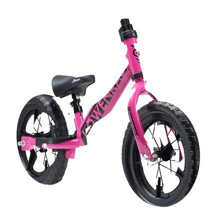 "bikestar LÖWENRAD Kinderlaufrad 12"" höhenverstellbar Berry"