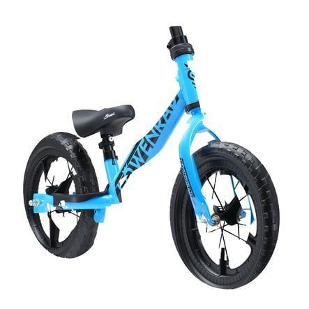 bikestar LÖWENRAD Draisienne enfant évolutive 12 pouces bleu