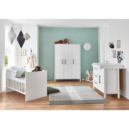 arthur berndt Kinderzimmer Kiara 3-türig mit Umbauseiten