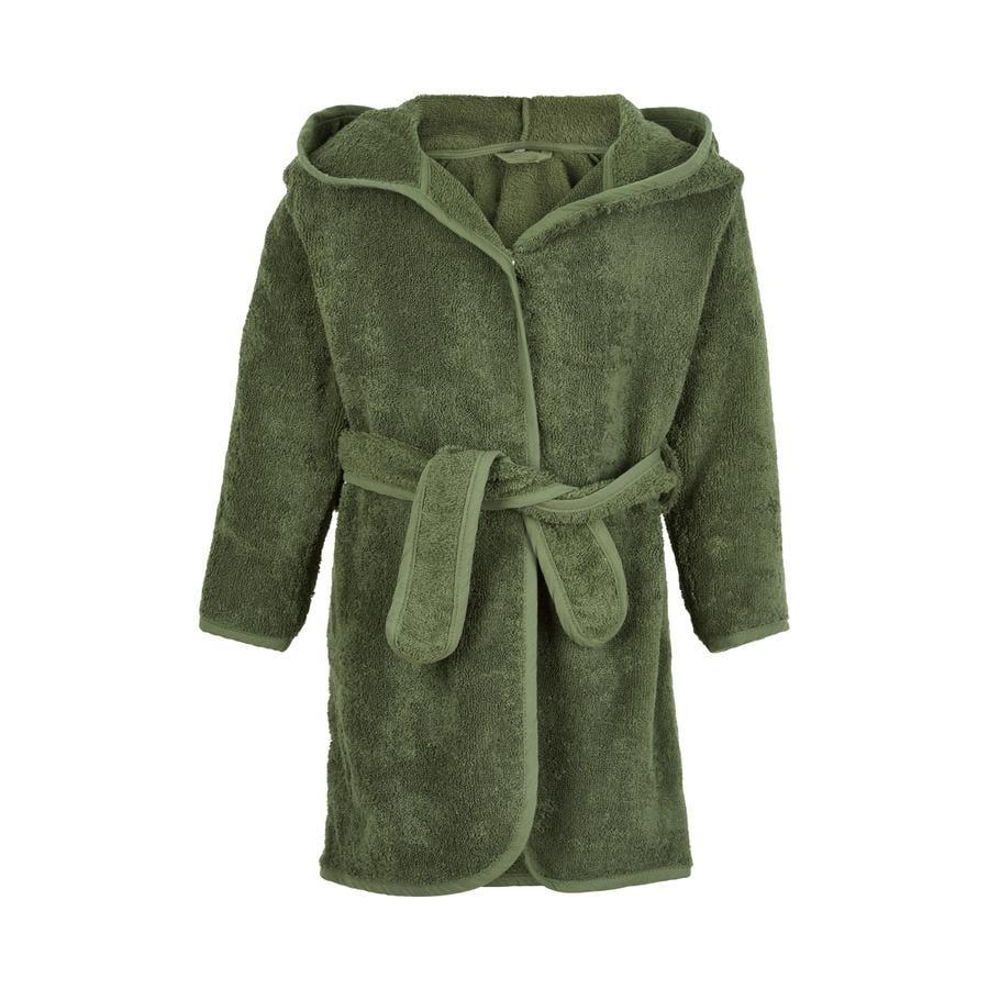 Pippi Peignoir de bain enfant Deep Lichen Green
