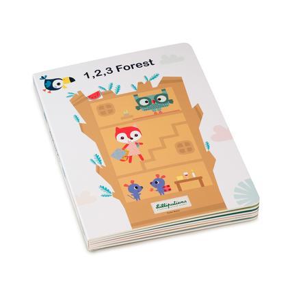Lilliputiens 1,2,3 WALD,  Mein erstes Puzzlebuch, 23x17x2 cm