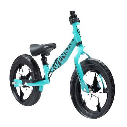 """bikestar LÖWENRAD Kinderlaufrad 12"""" höhenverstellbar Türkis"""