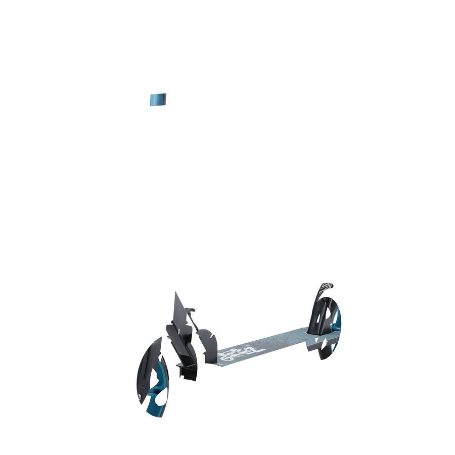 bikestar BLUE GORILLAZ Klapp Kinderroller 205 mm Schwarz