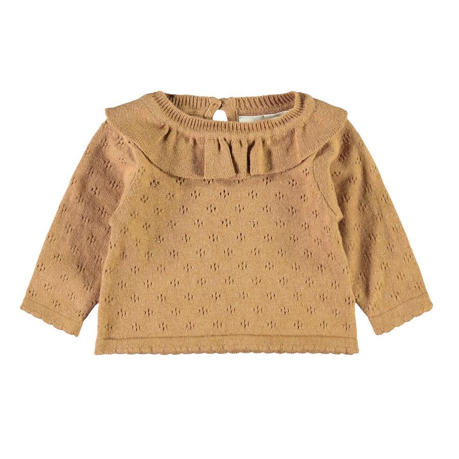 Lil'Atelier Langærmet skjorte Nbfgliva Tobacco Brown