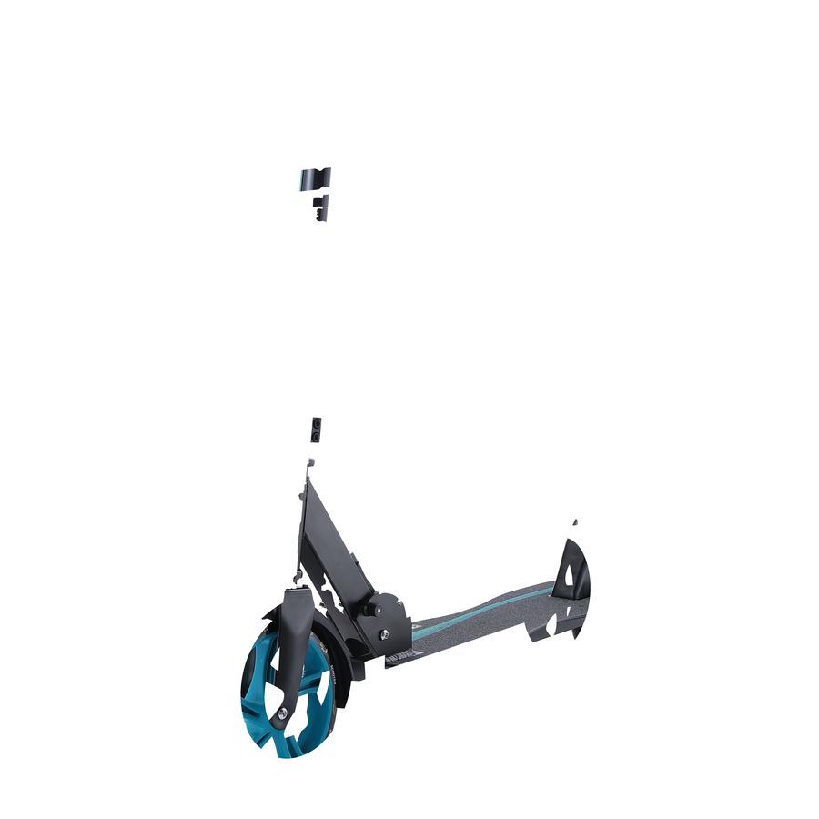 bikestar Trottinette enfant 2 roues pliable STAR SCOOTER City 205 mm noir