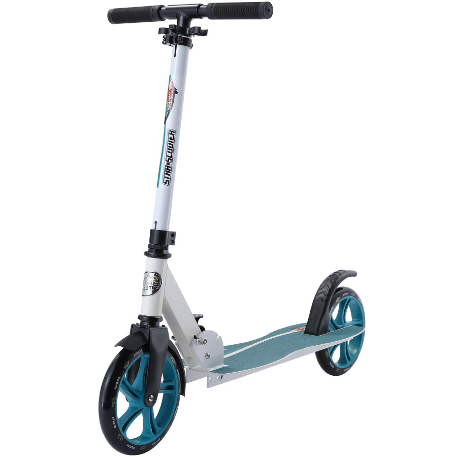 bikestar STAR SCOOTER Klapp City Kinderroller 205 mm Weiß