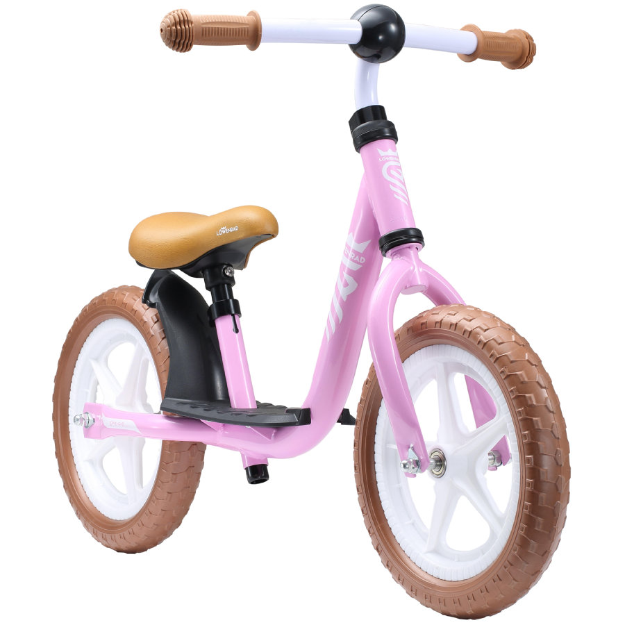 "bikestar LÖWENRAD Kinderlaufrad 12"" Rosa"