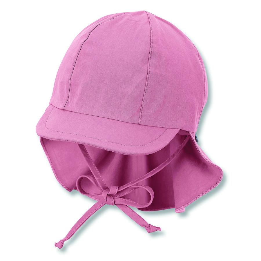 Sterntaler Schirmmütze mit Nackenschutz helllila