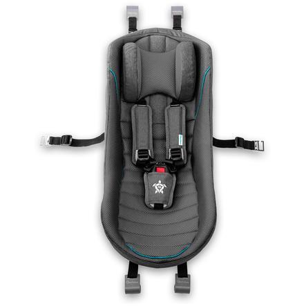 Qeridoo ® Baby sæde mørkegrå til barnecykelanhænger