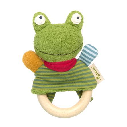 sigikid® Greifring Frosch Green