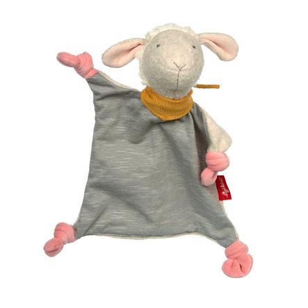 sigikid® Schnuffeltuch Schaf grau