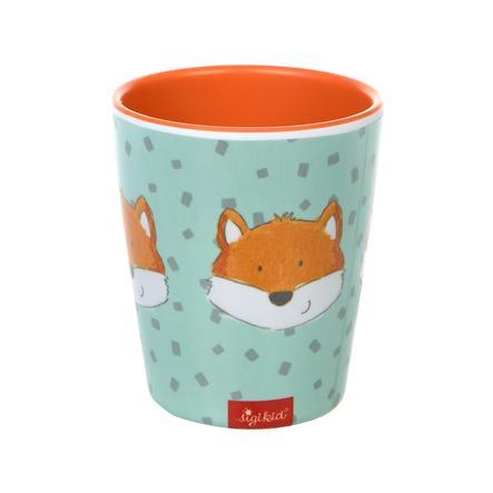 sigikid® Melamin-Becher Fuchs mint-orange
