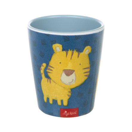 sigikid® Melamin-Becher Tiger blau