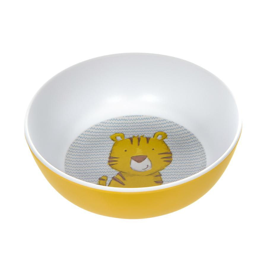 sigikid® Melamin-Schüssel Tiger gelb